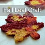 Fall leaf Craft for Kids