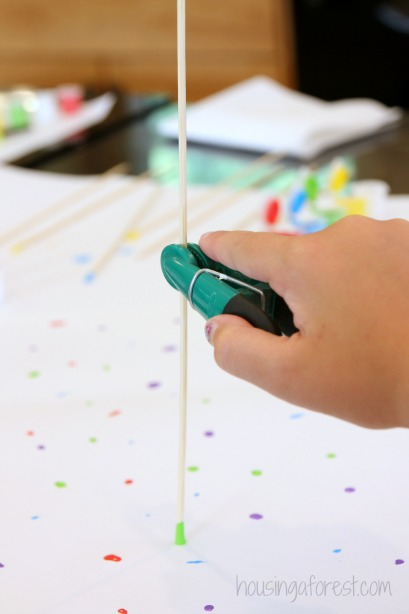 Fine Motor Painting Activity