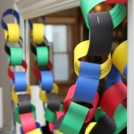 Olympic Paper Chain Countdown