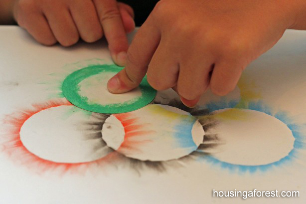 Olympic Ring Craft
