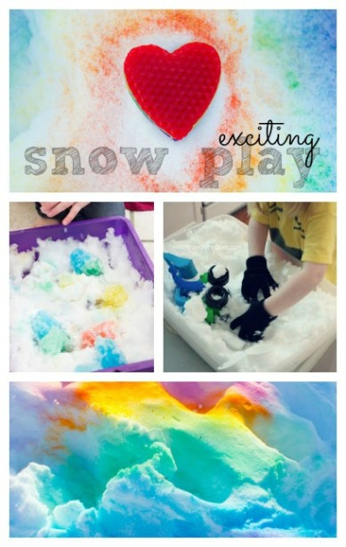 Snow Play Activities for kids