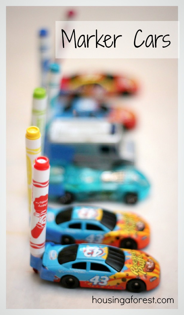 drawing with cars marker cars is a fun activity that merges art and play
