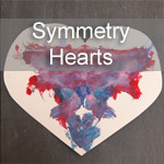 Symmetry Heart Valentines