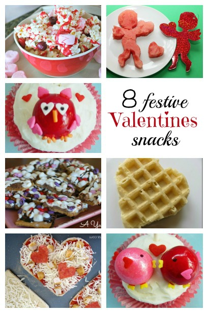Festive Valentines Day Snacks fro kids
