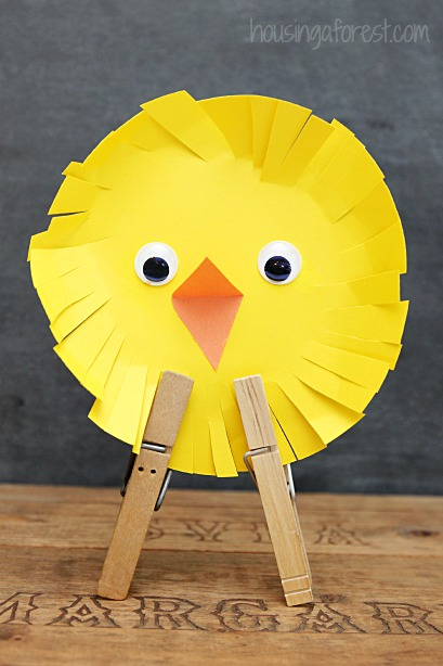 Simple Easter Chicks An Easy Craft For Kids