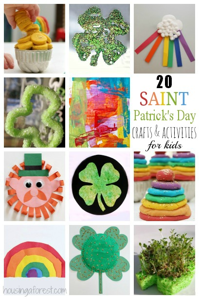 20 st patricks day crafts for kids housing a forest