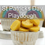 St Patricks Day Playdough