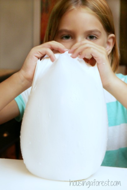 Giant DIY GAK bubbles ~ Simple play recipe  your kids will love!
