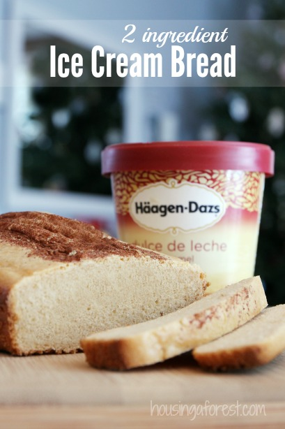 Ice cream bread recipe housing a forest ice cream bread recipe only 2 ingredients a fun kitchen experiment your kids will forumfinder Choice Image