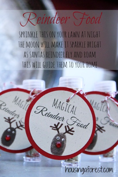 Magical Reindeer Food ~ Cute Christmas Eve activity