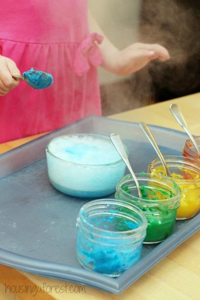 Vinegar Baking Soda Preschool Science ~ 3 fun ways to learn and play with FizzingPaint