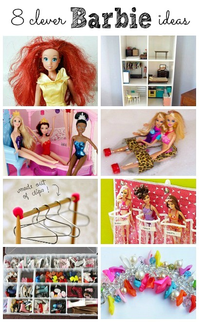 Clever Barbie Ideas Housing A Forest - Barbie doll storage ideas