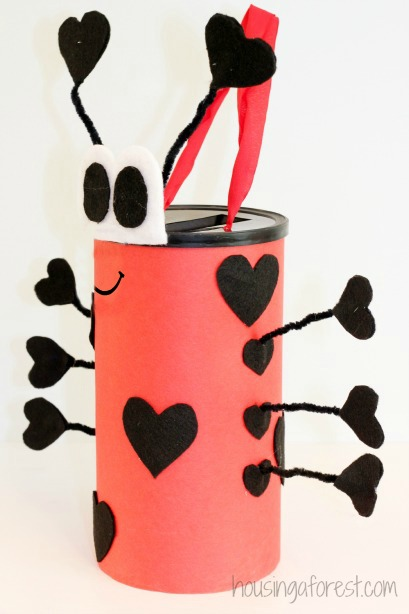 Easy Valentine Card Holders for Kids