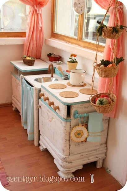 10 diy play kitchen ideas housing a forest - Kitchen diy ideas ...