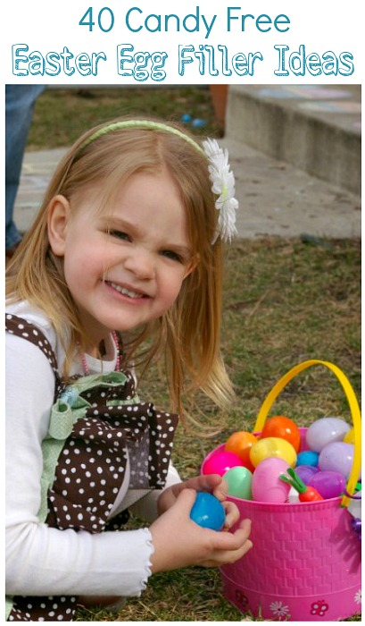 40 Candy Free Easter Egg Filler Ideas