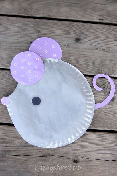 preschool mouse craft paper plate mouse craft housing a forest 555