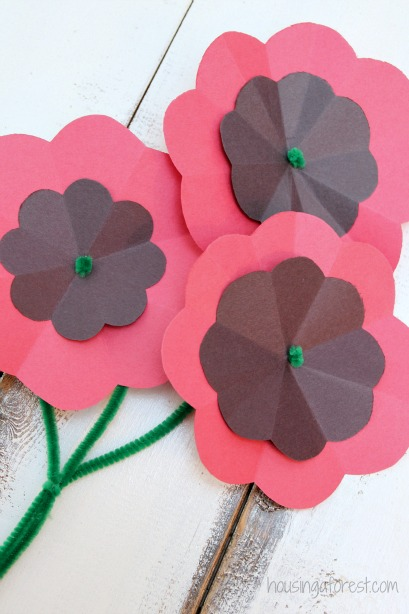 DIY Paper Poppy Flower Tutorial