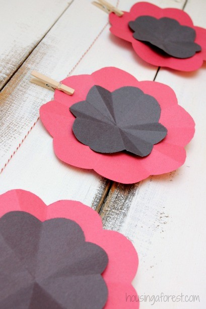 Diy Paper Poppy Housing A Forest
