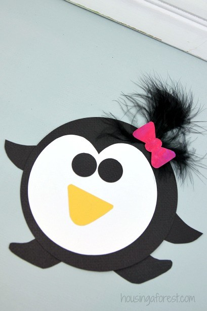 Easy Penguin Craft for kids ~ Printable PDF