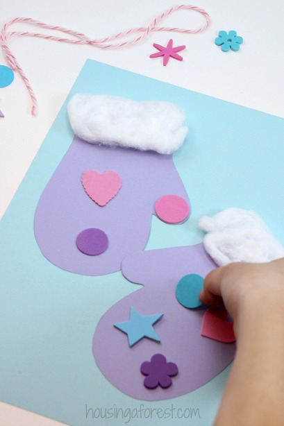 ... with foam stickers, sequins or craft jewels however the kids desire