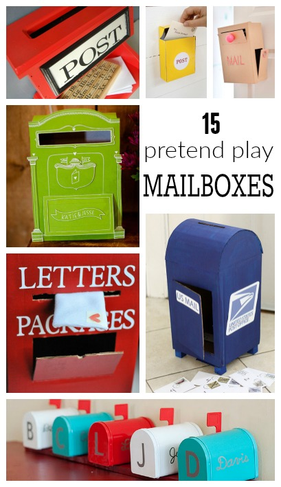 preschool mailbox diy mailboxes for housing a forest 165
