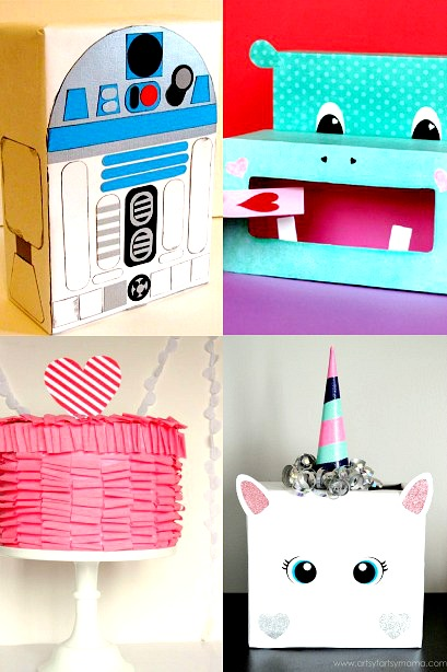 20 of the cutest valentine boxes ideas your kids are going to love