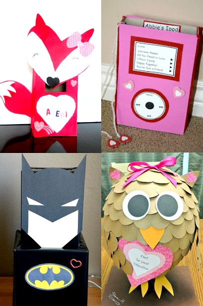 20 Of The Cutest Valentine Boxes Housing A Forest