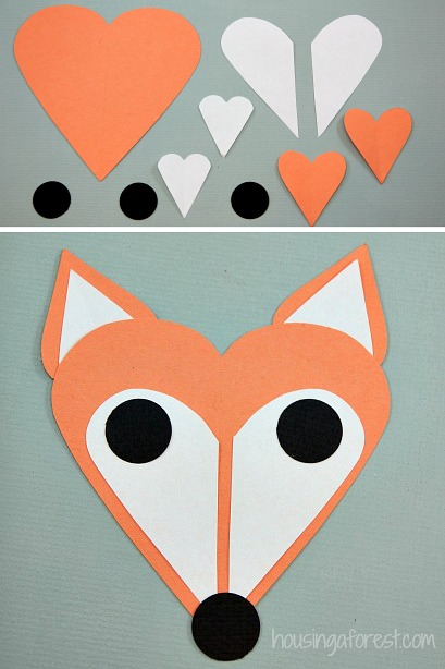 Valentine Animal Crafts For Preschoolers