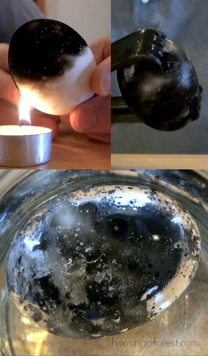 How to Make A Silver Egg - Science Experiments for Kids